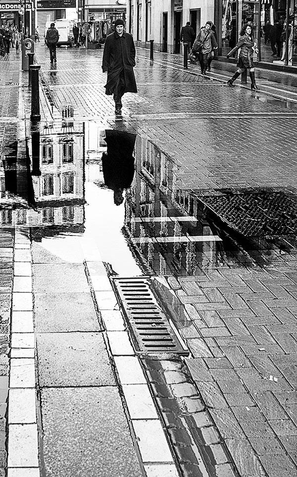 How to Use Reflection in a Photo: A Rainstorm in Ireland Becomes an Opportunity