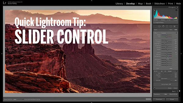 Quick & Easy Lightroom Tip: Scott Kelby on How to Clean Up & Control Your Sliders (Shutterbug Video)