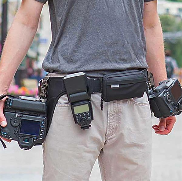 SpiderPro Hand Strap v2 Purple Compatible with DSLR and Mirrorless Cameras. Spider Holster
