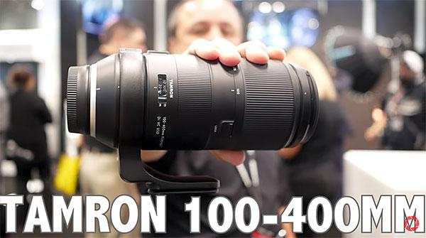 Hands-On with the New Tamron 100-400mm f/4.5-6.3 Di VC USD Zoom Lens at PhotoPlus (Shutterbug Video)