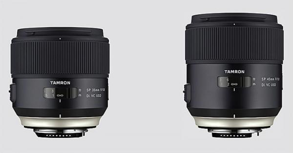 Tamron SP 35mm f1.8 Di VC USD and SP 45mm f1.8 Di VC USD Lens Review ...