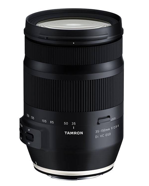 Tamron to Intro 3 New Lenses: 2 for Full-Frame DSLRs and 1 for Full-Frame Mirrorless Cameras