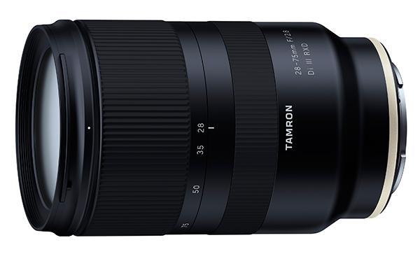 Tamron Intros 28-75mm F/2.8 Lens for Full-Frame Sony Mirrorless ...