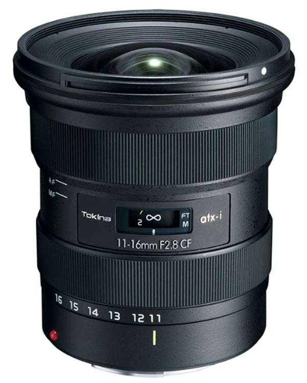 This New Tokina 11-16mm F/2.8 Zoom Lens for Canon & Nikon Crop Sensor DSLRs Is Just $449