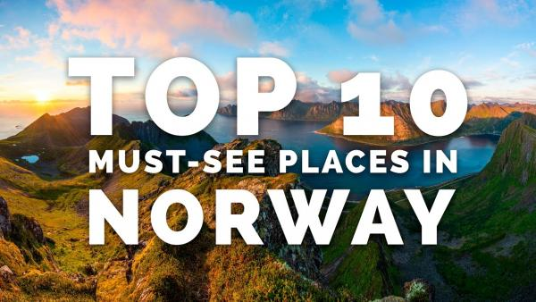 Here Are the Top 10 Most Beautiful Places for Travel Photography in Norway (VIDEO)