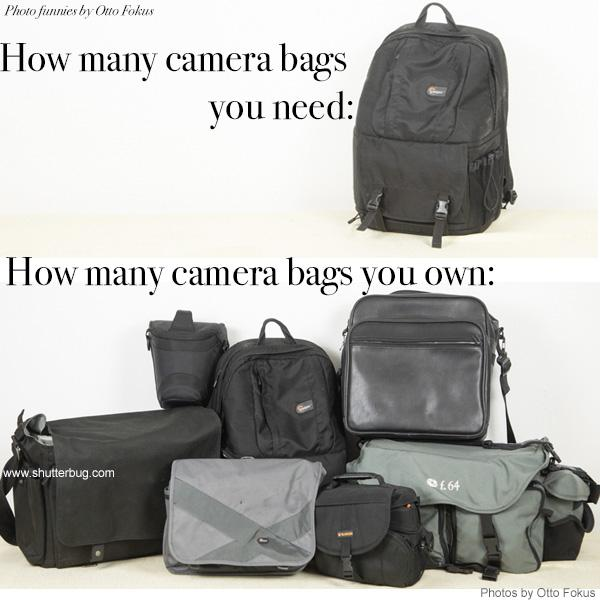 Photo Meme of the Week: How Many Bags? (Humor by Otto Fokus)