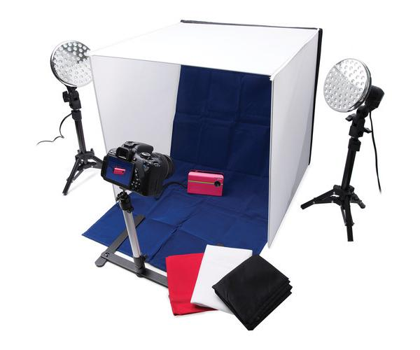 polaroid pro table top photo studio kit review a low cost lighting