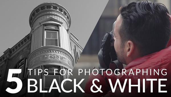 5 Great Tips for Shooting Dramatic Photographs in Black and White (VIDEO)