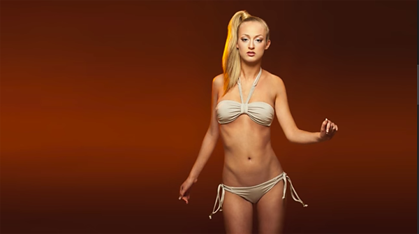 Sensuous Bikini Glamour Photography Is Easy with This Simple Setup and a Pretty Model (VIDEO)