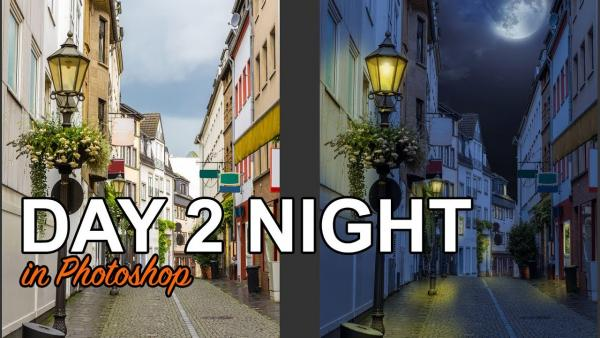 Photoshop Tips: Turn Daytime Photos Into Night Scenes with 3 Simple Steps (VIDEO)