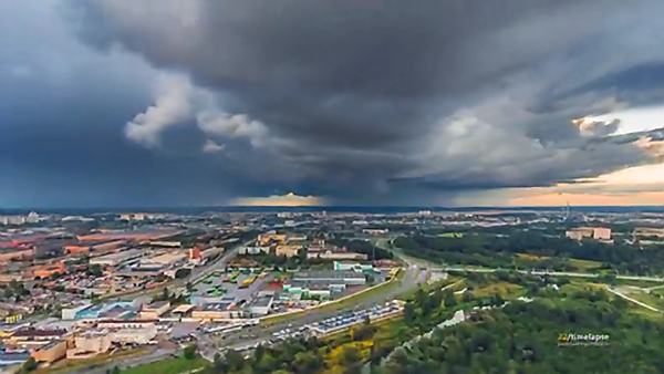 Watch This Beautiful Time-Lapse Video Shot with a Drone in Minsk, Belarus by Artem Pryadko