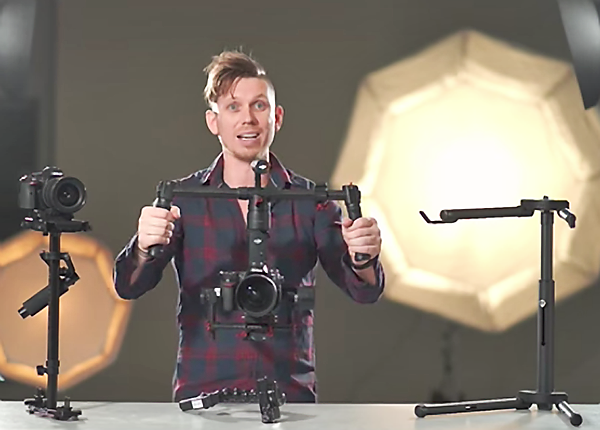 Which Type of Image Stabilizer Works Best: Motorized Gimbal or Weighted Mechanical System? (VIDEO)