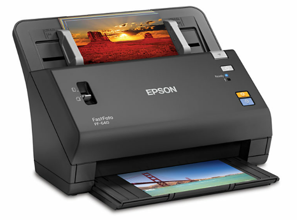 epson s new fastfoto ff 640 is the world s fastest print scanner at