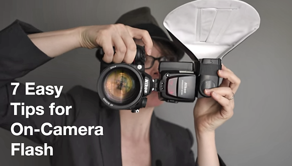 7 Simple Tips for Using On-Camera Flash to Shoot Pleasing People ...