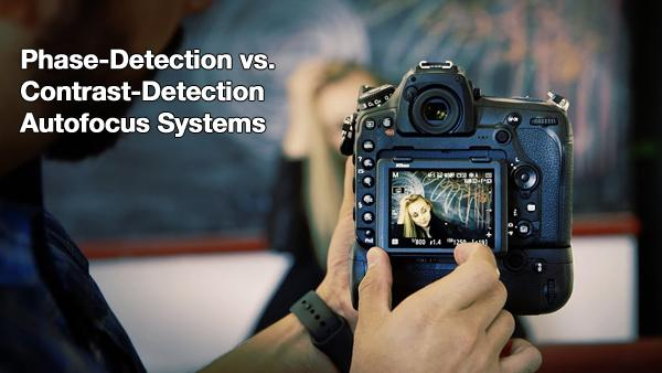 What's the Difference Between Contrast-Detection & Phase-Detection AF? Watch This Video & Find Out