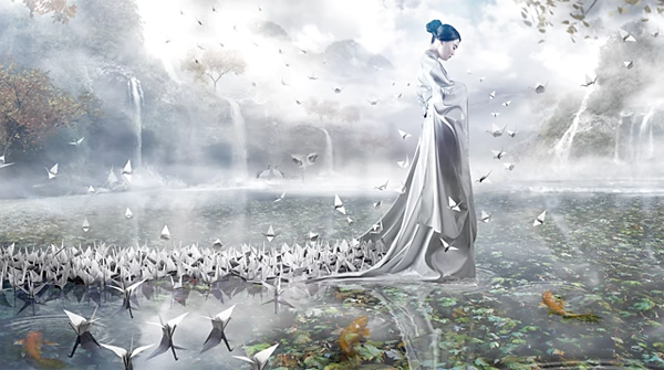This Image Tells a Poignant Story: The Japanese Legend of 1000 Cranes & the Atomic Bomb (VIDEO)