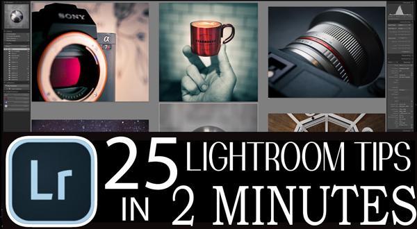25 Easy Lightroom Tricks in Just 2 Minutes! (VIDEO)
