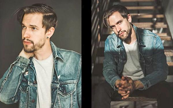3 tips for teaching male friends to pose for portraits like a pro