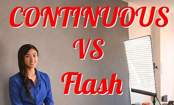 Here Are the Pros & Cons of Continuous Light and Flash for Shooting Photos at Home (VIDEO)
