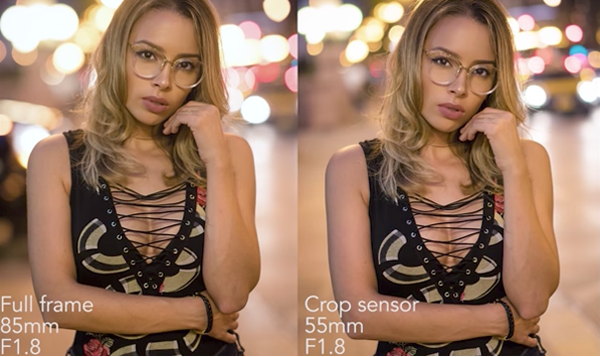 Full-Frame vs. Crop Sensor Shootout: Can You Spot the Difference in These Portraits? (VIDEO)