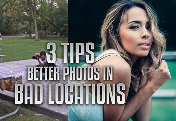 Learn to Take GREAT Portrait Photos in BAD Locations with These 3 Tips from Manny Ortiz (VIDEO)