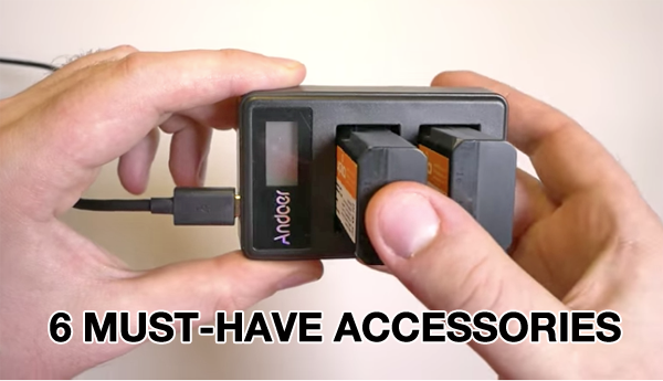 6 Photo Accessories for DSLR & Mirrorless Cameras That This Pro Can't Live Without (VIDEO)