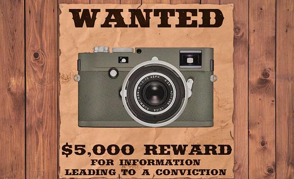 $5,000 Reward: Be on the Lookout for This Photo Gear Stolen from The