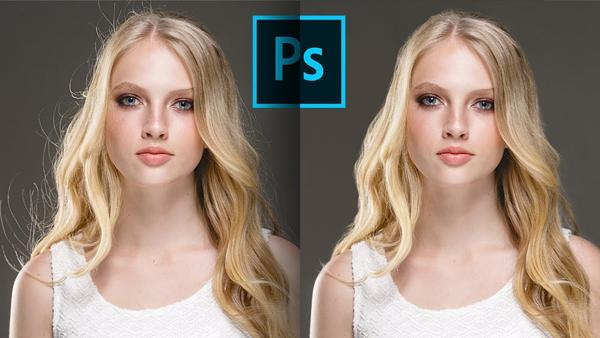 Removing Flyaway Hair is as Easy as One-Two-Three with This Quick Photoshop Trick (VIDEO)