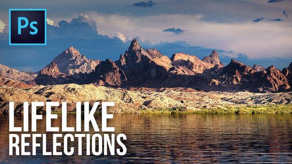Add Realistic Water Reflections to Landscape Photos Using Photoshop's Powerful 3D Features (VIDEO)