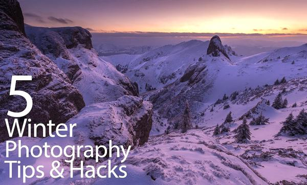 Landscape Tutorial: 5 Tips & Tricks for Shooting Stunning Winter Photographs (VIDEO)