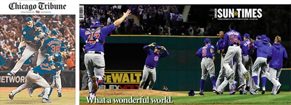 This Happens When One Newspaper Uses Staff Pros to Shoot the World Series & Another Doesn't