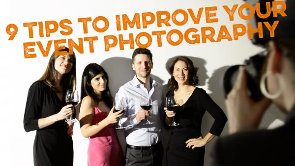 9 Quick Tips on How to Shoot Professional-Looking Event Photos (Shutterbug Video)