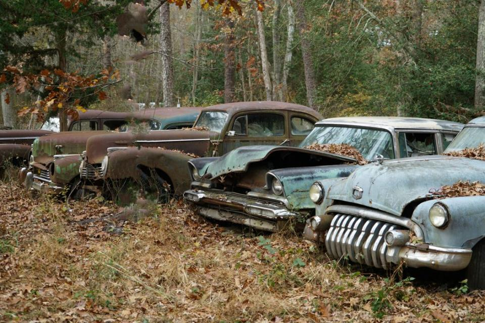 Old loved abandoned cars | Shutterbug