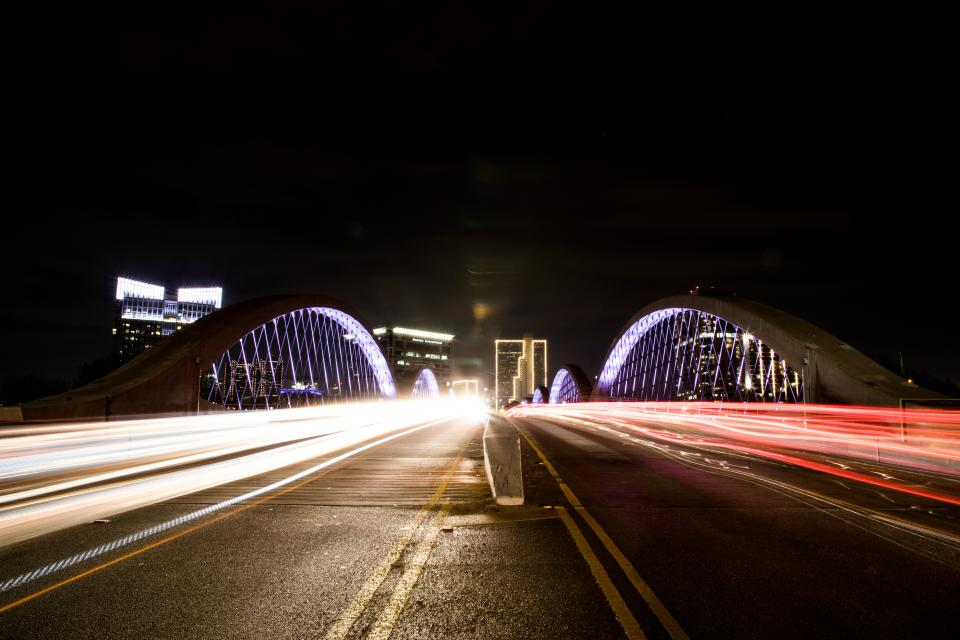 ... Fort Worth Light Trails. I Have Been Driving Past This Point For Years  And Always Thought This Would Make A Great Shot In My Head.
