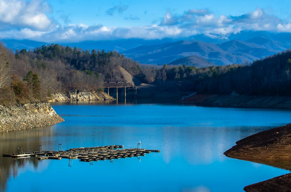 Fontana Lake And The Great Smoky Mountains Shutterbug
