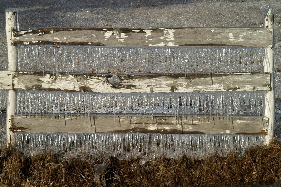 Farm Fence Ice | Shutterbug