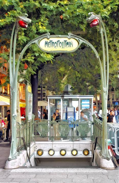 Metro Entry | Shutterbug