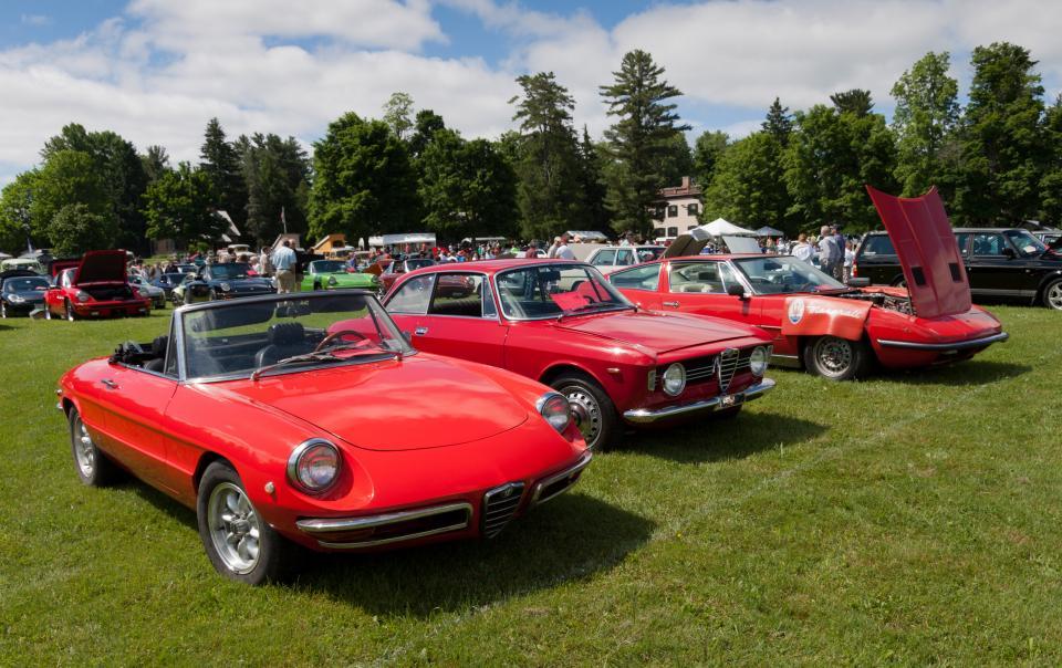 Classic Italian Sports Cars Shutterbug - Italian car show