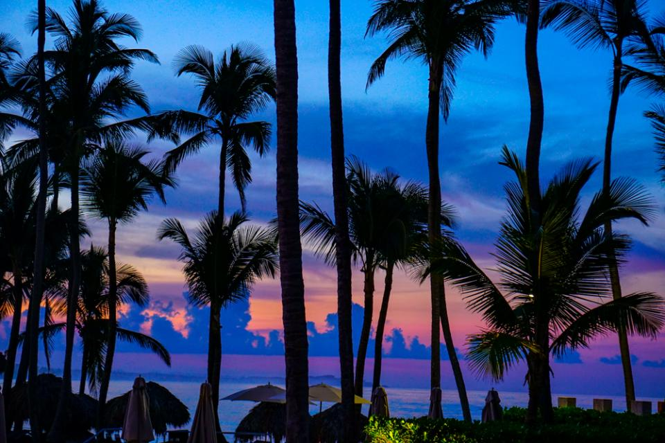 This Photo Was Taken During A Relaxing Holiday At Sunset The Palms Little Bare Due To Hurricane Damage