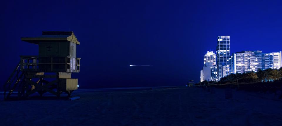 North Miami Beach At Night By Photography Jason Gobel