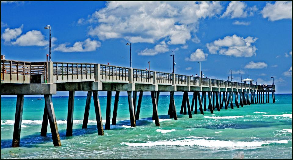 You Are Here Home Galleries Dania Beach Florida Pier