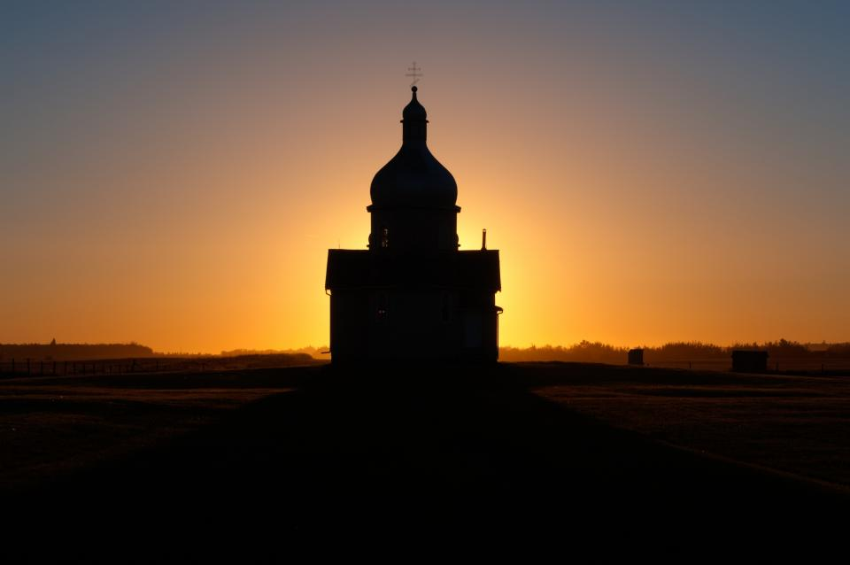 I Am An Ecologist Working In Alberta Canada And Often Take My Camera With Me During Field Studies This Ukrainian Church The Country Side Near Opal