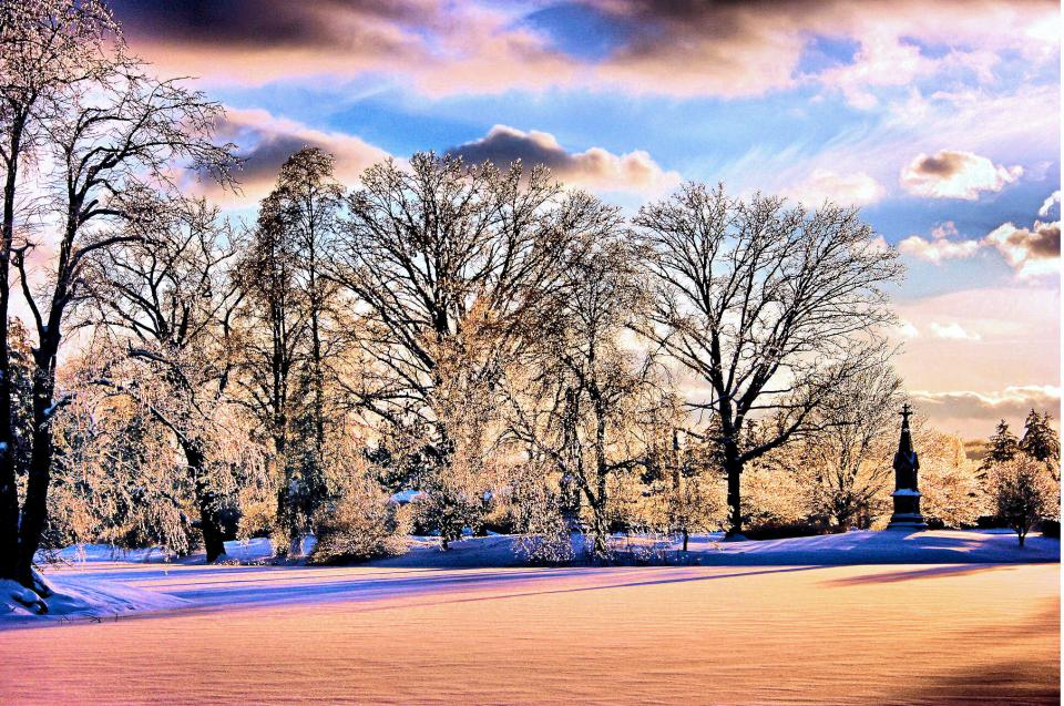 Winter Scene in Cincinnati, Ohio | Shutterbug