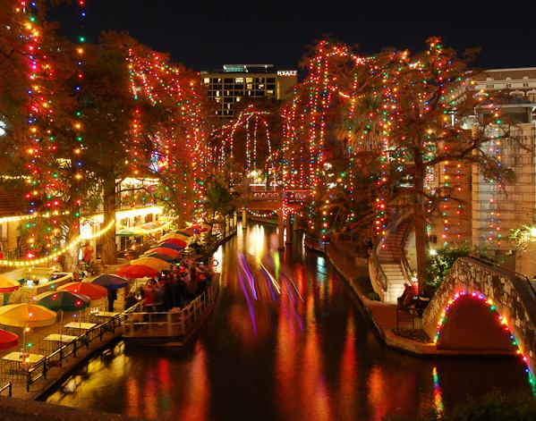 San Antonio Riverwalk At Christmas Shutterbug